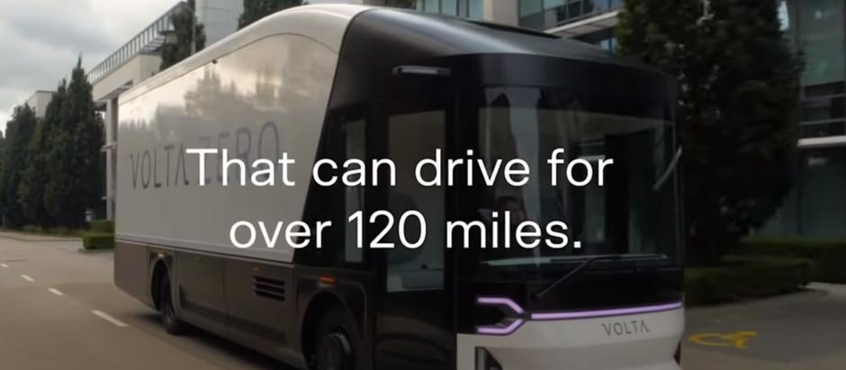 Стартап Volta представил электрический городской грузовик Zero