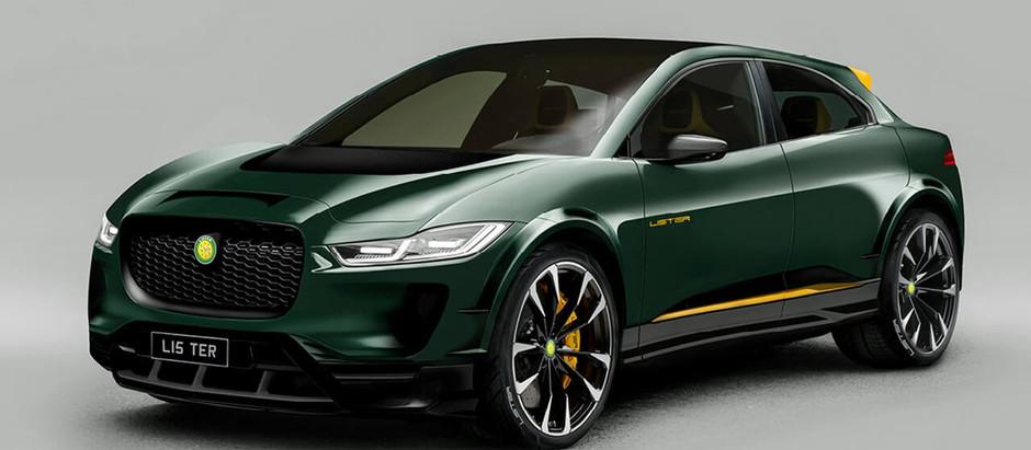 Британская тюнинговая компания Lister представляет концепцию Jaguar I-Pace