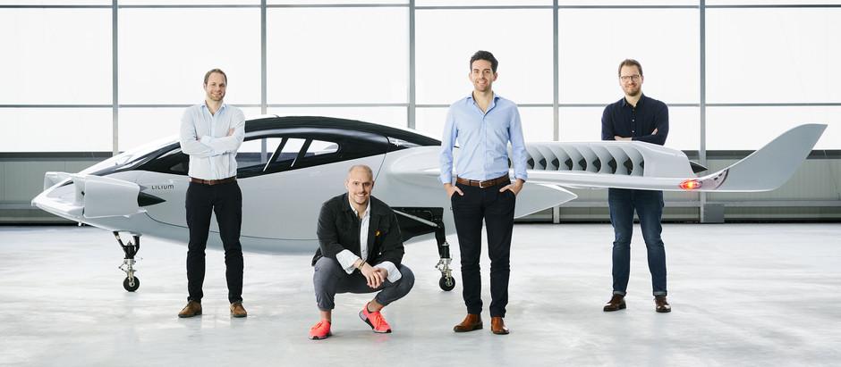 Компания Lilium успешно испытала летающее такси в Германии