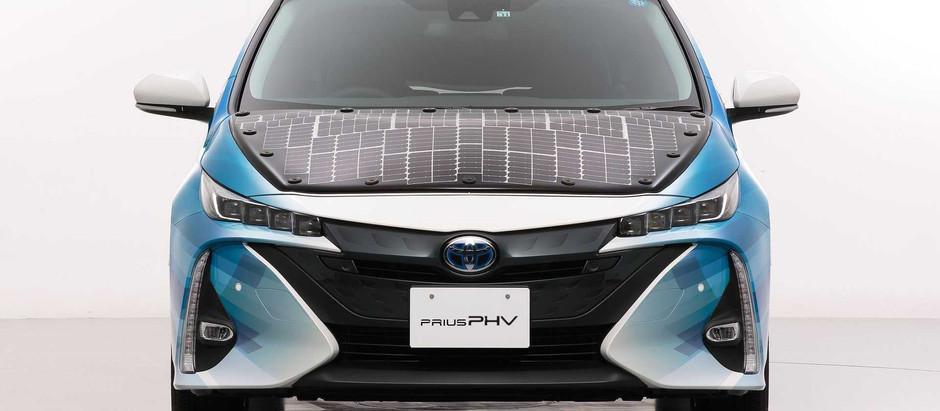 Toyota тестирует электрокар на солнечных аккумуляторах