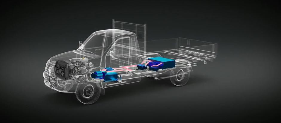 Беспилотный гибрид представил УАЗ
