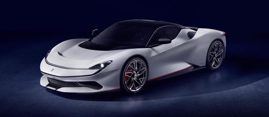 Электрический Pininfarina Battista мощностью 1397кВт