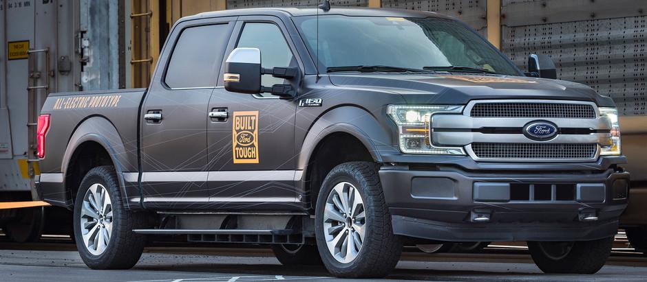 Ford начала строительство в США завода по производству электрических пикапов F-150