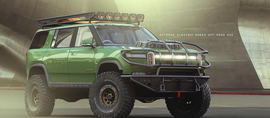 Rivian R1S Forest Ranger Edition концепт электрокроссовера