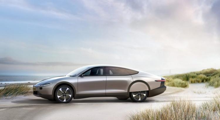 Lightyear представила  электромобиль с запасом хода 720 км