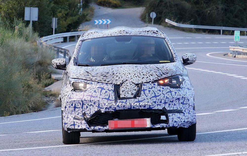 Шпионский снимок второго поколения Renault ZOE