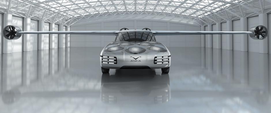 Aska представила летающий электромобиль