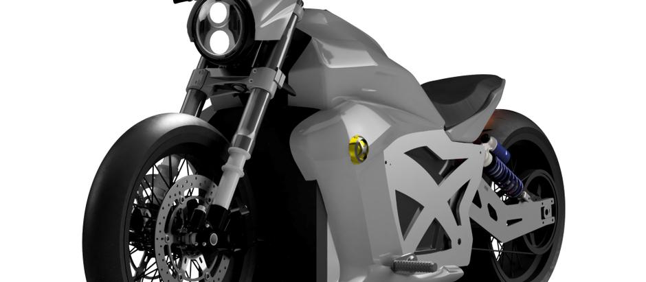 Evoke электромотоцикл мощностью 120 КВт