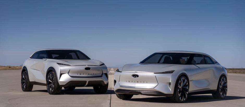 INFINITI предусматривает единую платформу для электромобилей и гибридов