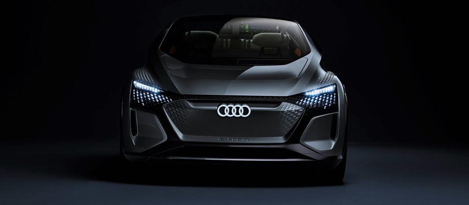 Audi представила электрический хэтчбек AI: ME