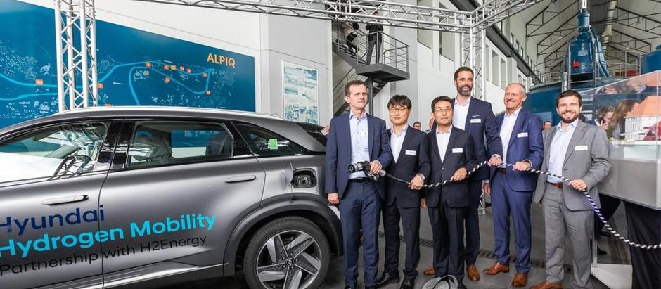 Hyundai и Hydrospider поставят в Швейцарию тысячу грузовиков на водородных топливных элемента