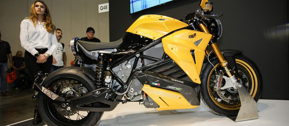 Мотоцикл Bolid-E - умный электрический концепт