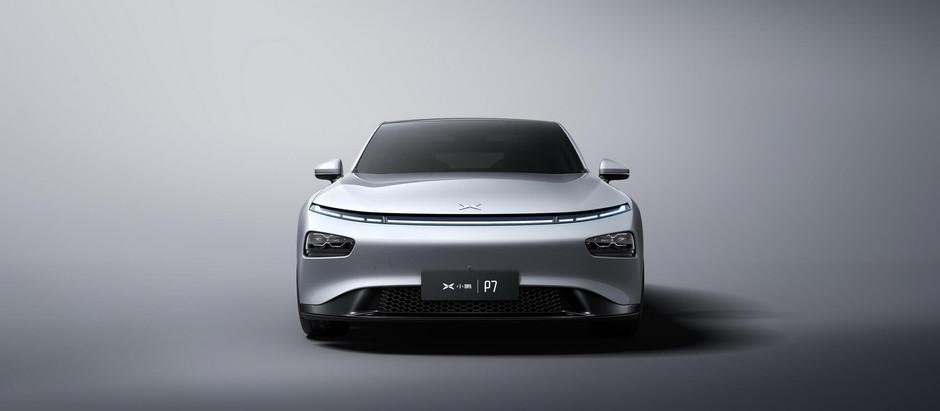 Стартап Xpeng представил в Шанхае электромобиль P7