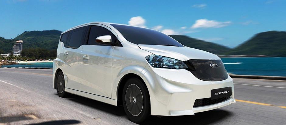 Таиланде выпущен первый электромобиль и начато развитие инфраструктура