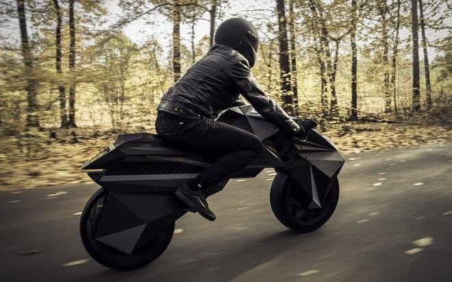 Nera — первый в мире электромотоцикл напечатанный на 3D-принтере