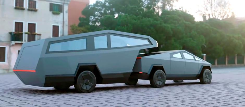 Трейлер от Tesla попытается изменить отрасль автодомов и кемперов