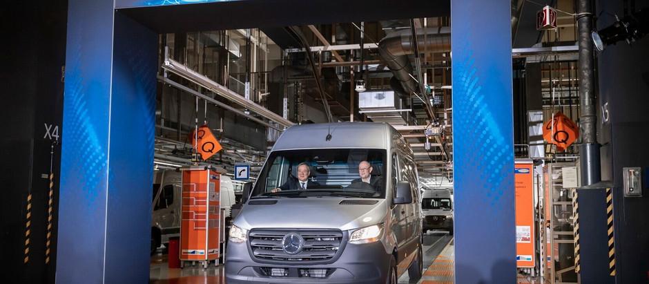Электрический фургон Mercedes-Benz eSprinter запустили в серию