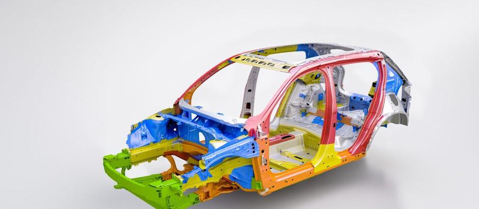 Электрический Volvo XC40 станет одной из самых безопасных моделей