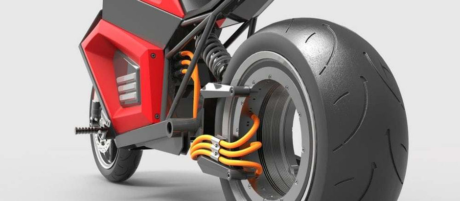 Электробайк E2 с задним безвтулочным колесом