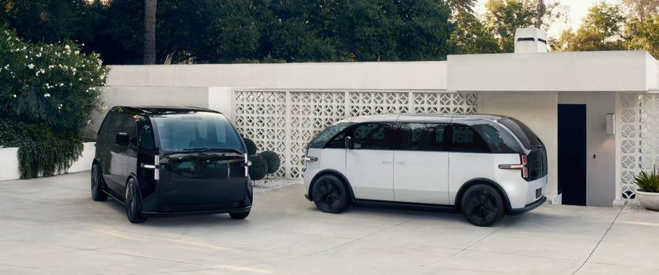 Электрический микроавтобус Canoo выпустили на общественные дороги