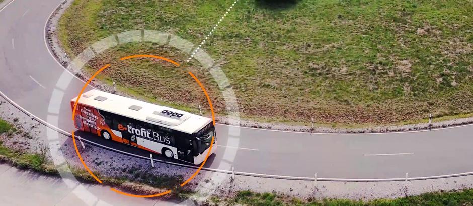 e-troFit модернизирует автобусы с ДВС на электротягу