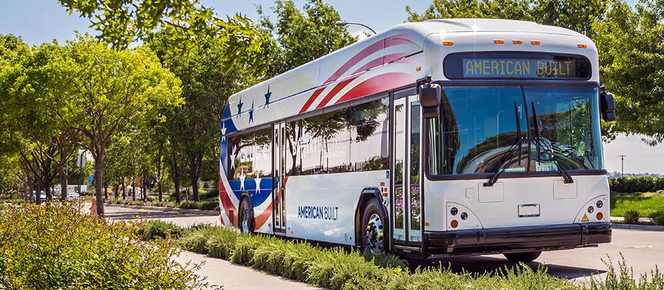 Электрический автобус Gillig  получил батарею на 444 кВт⋅ч