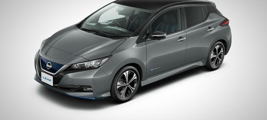 Nissan выпустил обновленный электрокар Leaf