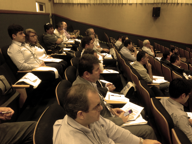Auditório H201 - Vista Parcial
