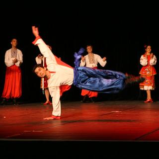 danse folklorique ukrainienne