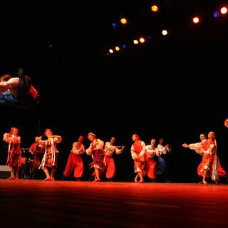 acrobaties et danses des pays de l'est