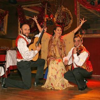 cabaret russe diner spectacle russe