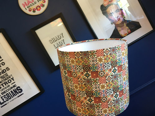 Moroccan tile shade (20cm S)