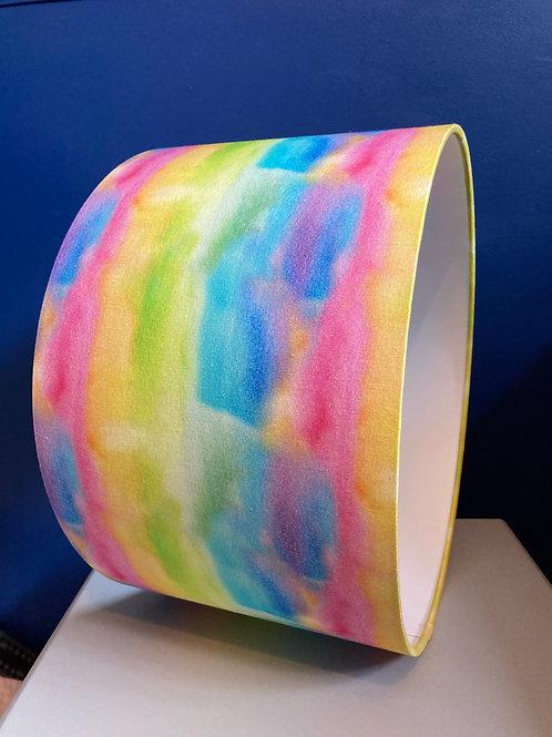 Rainbow watercolour shade