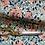 Thumbnail: William Morris 'Honeysuckle' fabric, in navy and orange
