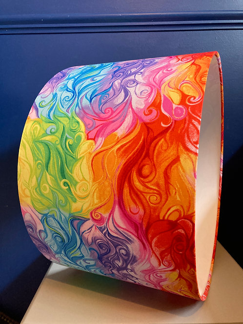 Rainbow swirl shade