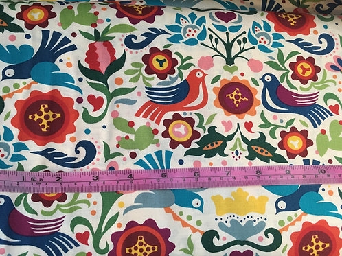 La Paloma Mexican fabric