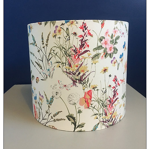 Wildflower lampshade