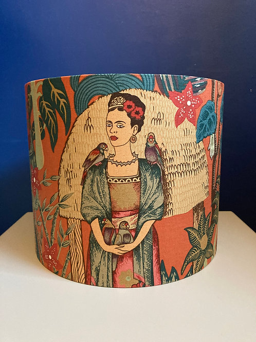 Frida dark orange lampshade
