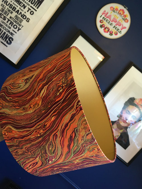 Harvest and gold marbled shade (35cm M/L)