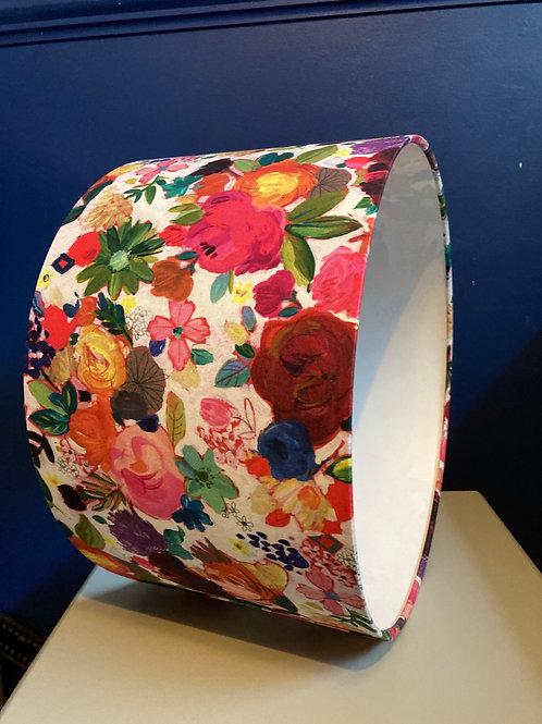 Floral multicoloured lampshade (35cm M/L) shade
