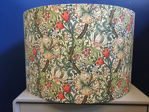 William Morris lampshade in Golden Lily
