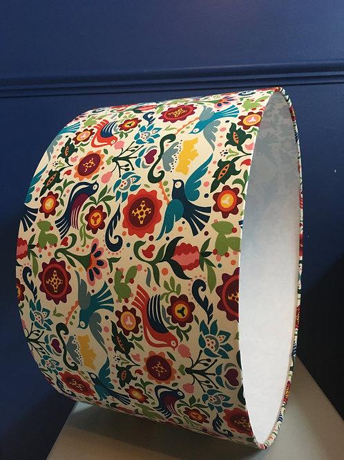 Mexicana lampshade in Paloma fabric