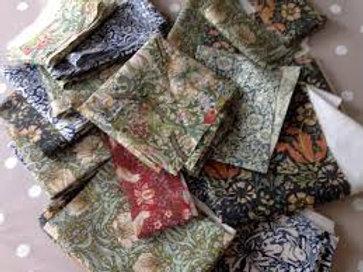 William Morris fabric remnants