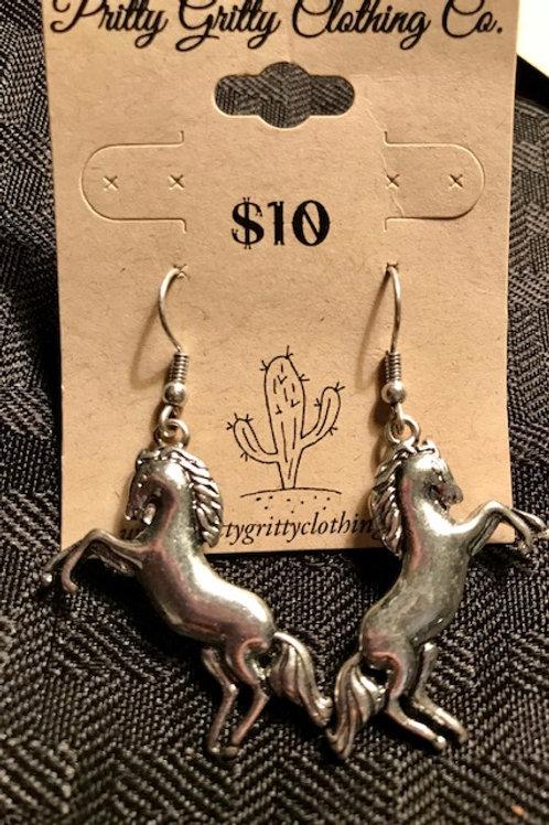 """""""Horse"""" Earrings"""