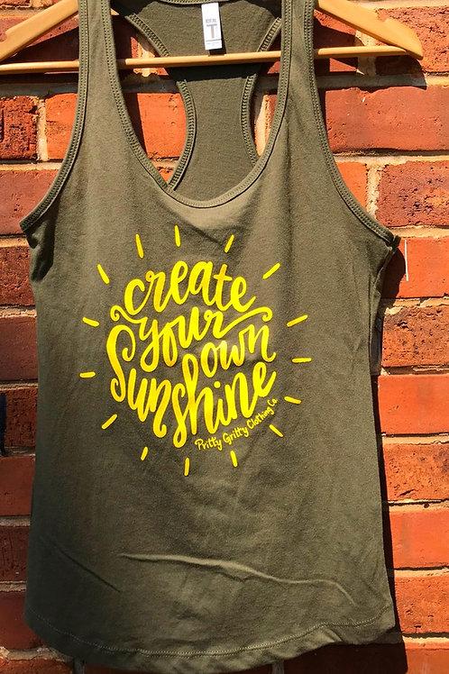 """Create your own Sunshine"" tank"