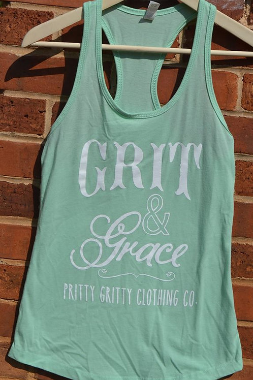 Grit & Grace Mint Tank