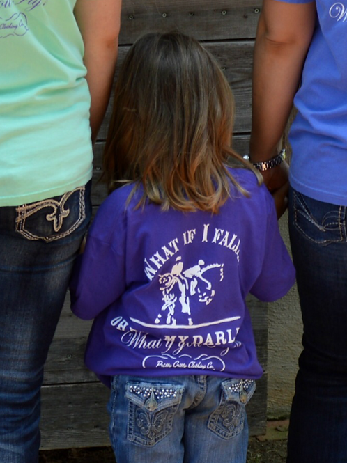 """Kid's """"What if you Fly..."""" (English) T-Shirt"""