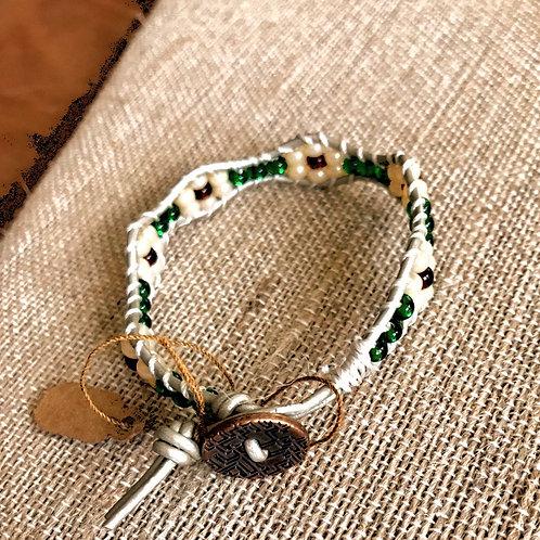 Handmade Beaded bracelet-flower