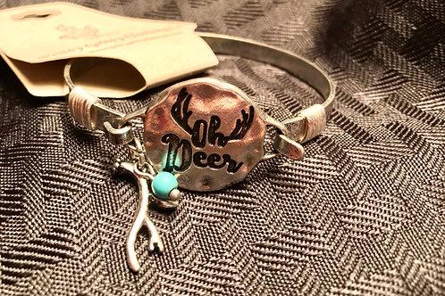 """Oh deer"" bracelet"