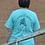"""Thumbnail: """"The toughest horses have the most to teach us"""" Comfort Color T-Teal/Pink Color"""